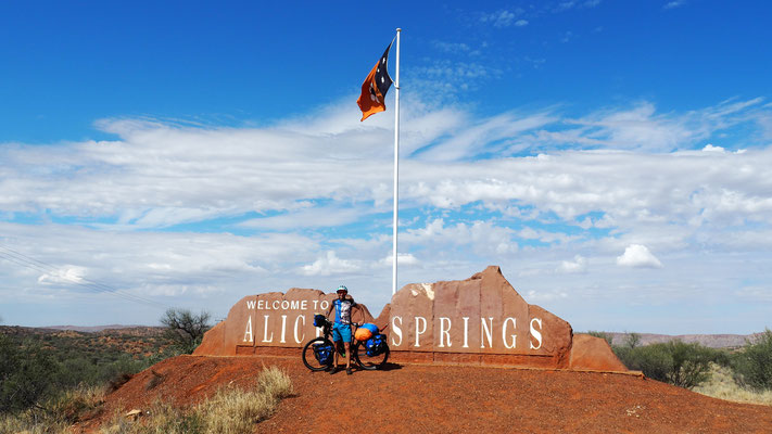 In Alice Springs