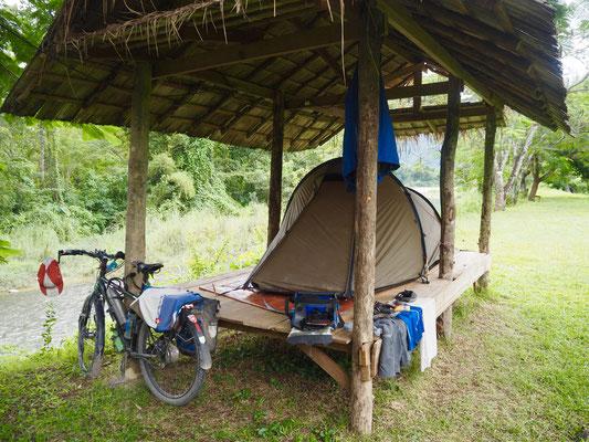 Camping Vang Vieng
