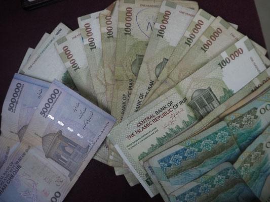 Millionär ist im Iran jeder