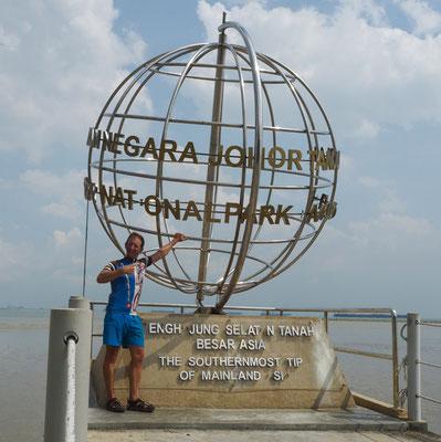 Der südlichste Punkt von Asiens Festland