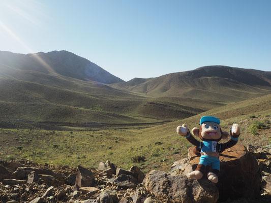 Pass auf 2720 Meter
