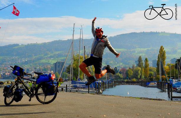 Zurück in der Schweiz. Am Bodensee