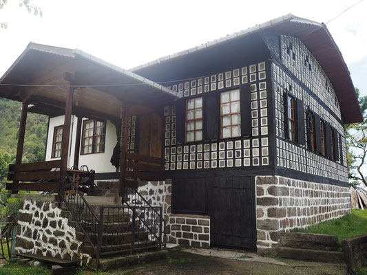 typisches Haus hier in Rize