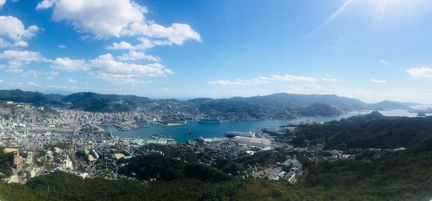 Nagasaki vom Aussichtsberg