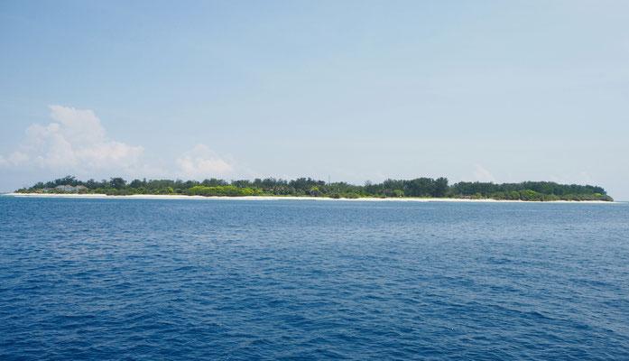 Eine der drei Inseln
