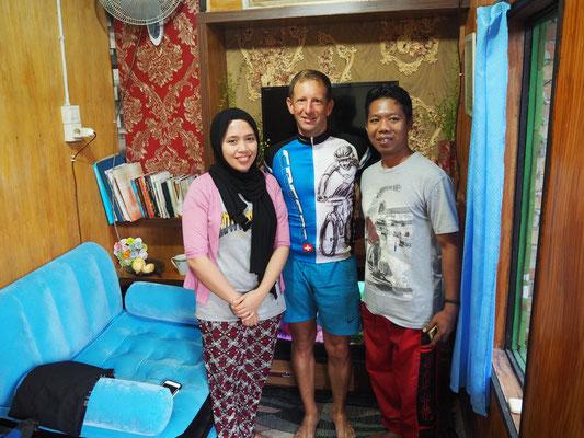 Meine Gastgeber Rani und Paul