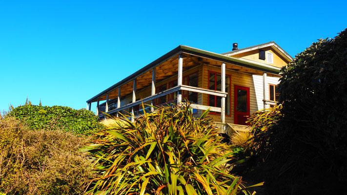 SAC Hütte in Neuseeland