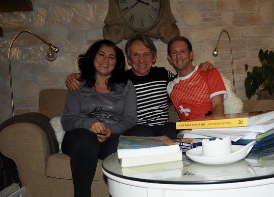 Warmshower Claudio und Imma