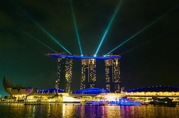 Lasershow Marina Bay