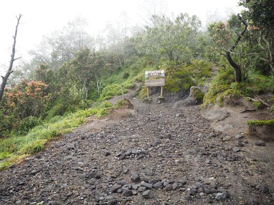 Auf dem Weg zum Vulkan Merapi