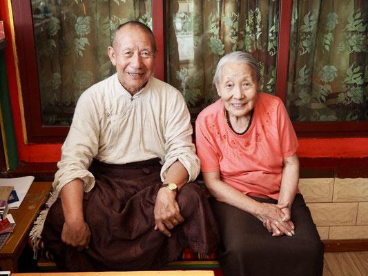 Nima und seine Frau