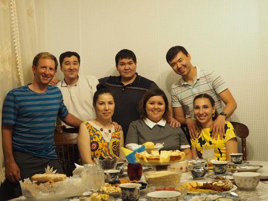 Geburtstagsparty Almaty