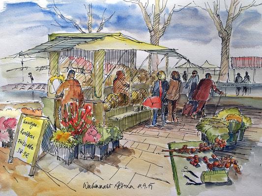 Wochenmarkt in Altona