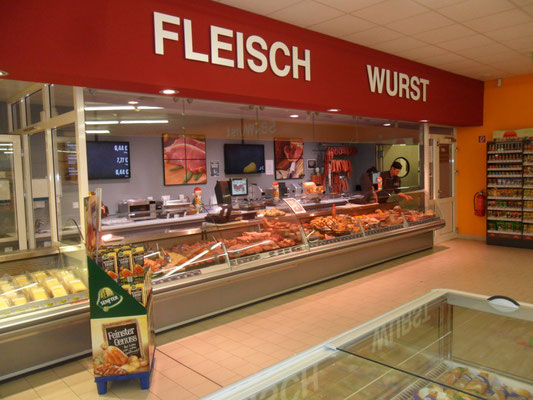 Fleischtheke und Wurst bei EDEKA in Lahnau Dorlar