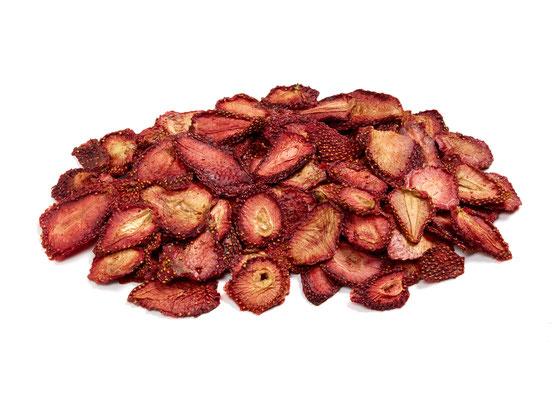Erdbeerscheiben