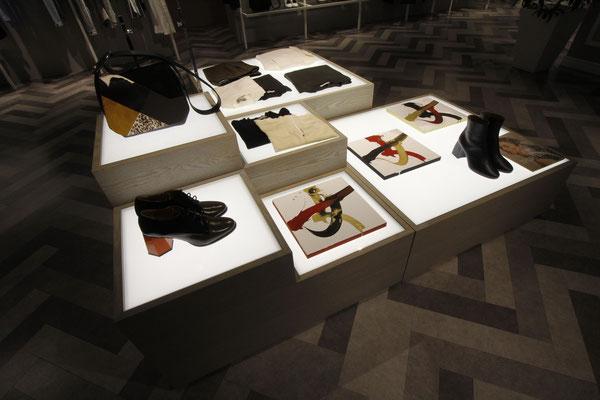 書道家万美 個展 / solo exhibition Calligraf2ity 西武渋谷店 KUNOICHI / 女