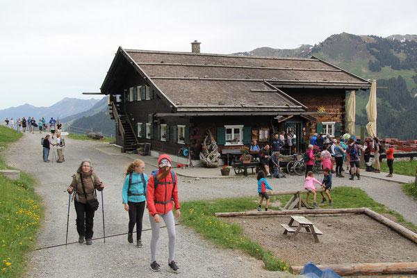 Höhenweg von Hirschegg nach Baad