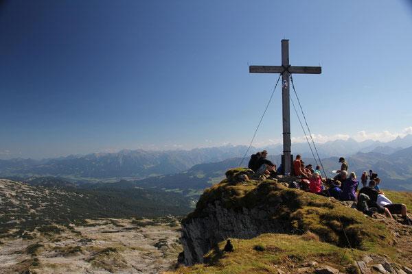 Gipfel Hoher Ifen 2230 m