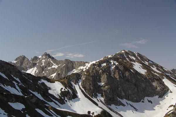 Hochgehrenspitze und Walser Hammerspitze