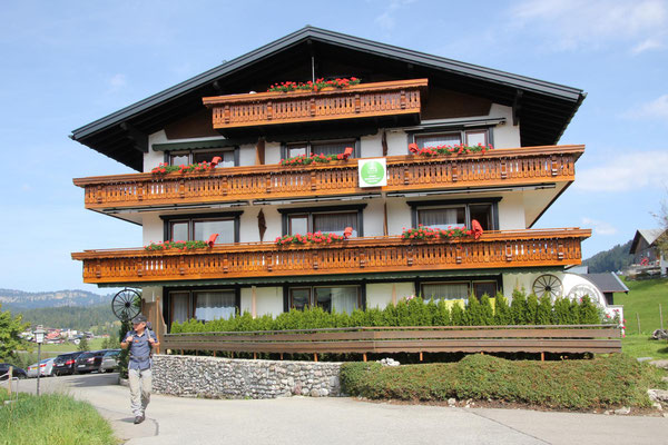 Pension Etschmann in Riezlern