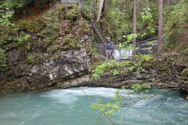 Naturbrücke am Schwarzwasserbach