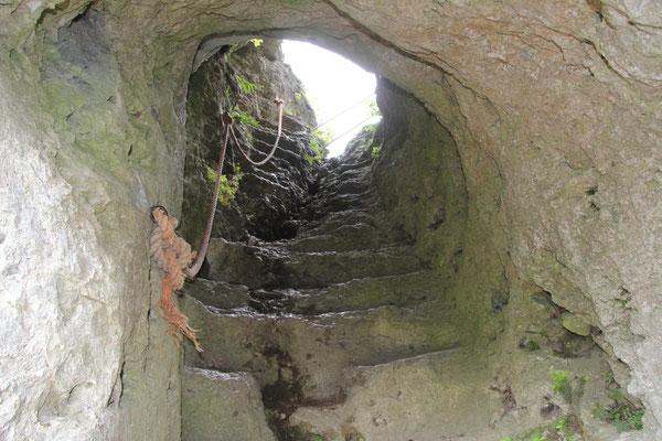 Aufstieg zum Fahnenstein