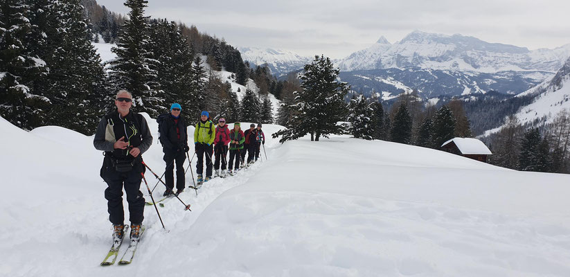 1. Skitour zum Medalges