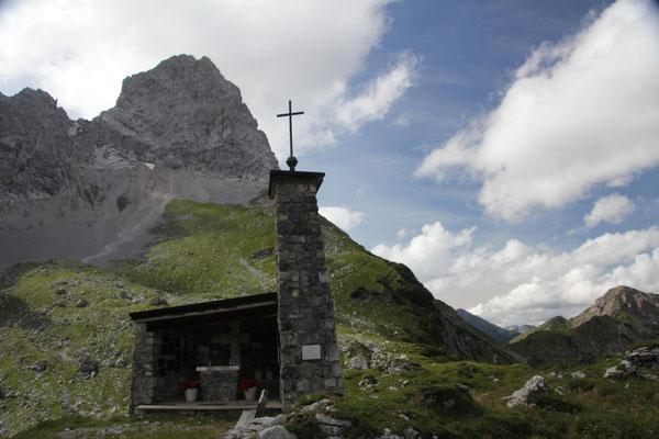 Kapelle bei der Lamsenhütte
