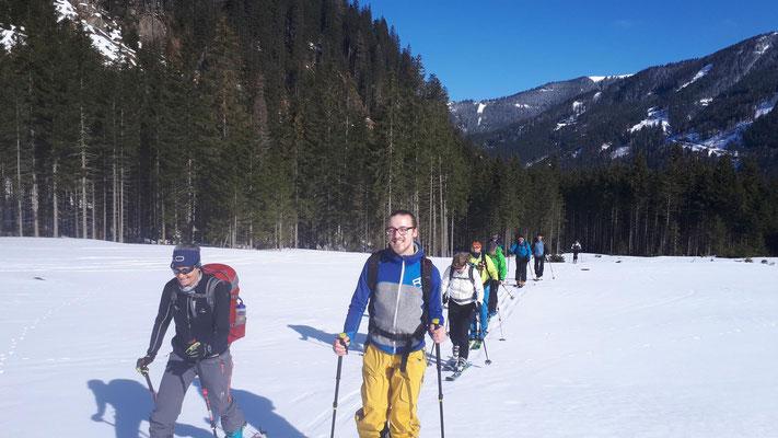 Skitour auf dem Gamskogel