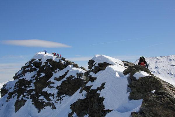 Gipfelgrat Pfattenspitz
