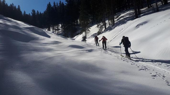 Skitour auf den Lattenberg