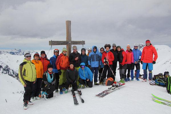 Kreuzeck 2204 m
