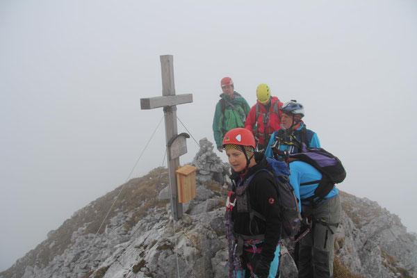 Gipfel Frauenmauer