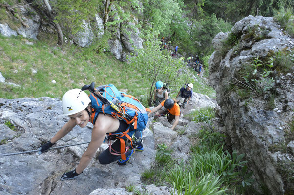Klettersteig Attersee : Robert strobl s seiten u klettersteige
