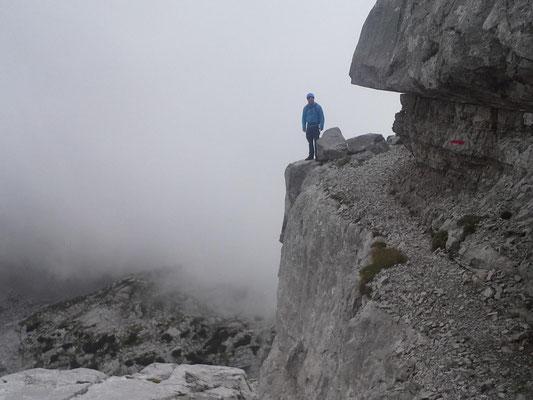 Abstieg Terassenspatziergang