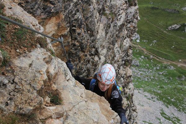 Klettersteig Roßkopf