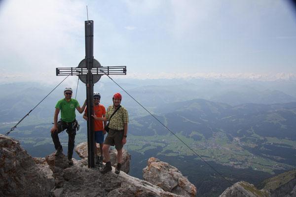 Gipfel Ellmauer Halt 2344 m