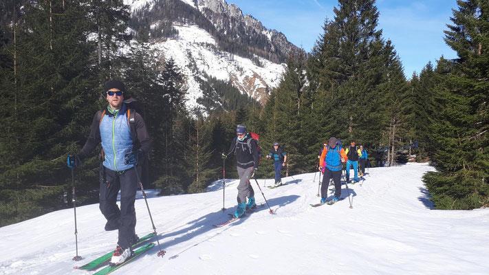 Skitour auf den Kerschkern