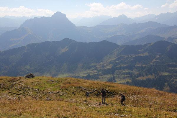 Abstieg Richtung Schwarzwasserhütte