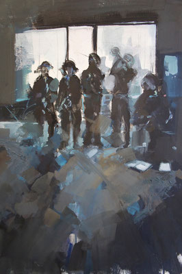 """Musicians"" 65 x 50 cm 