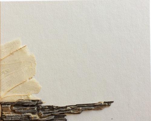 "Cristina Castañeda | ""Teruel n.11"" | Collage on cardboard | 8 cm x 10 cm| 2017"