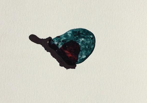 Resin Abstract N.5| 14 x 20 cm | Mixed Media on Cardboard