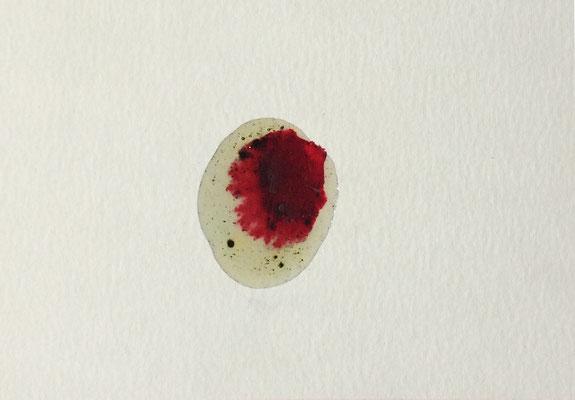 Resin Abstract N.1 | 14 x 20 cm | Mixed Media on Cardboard