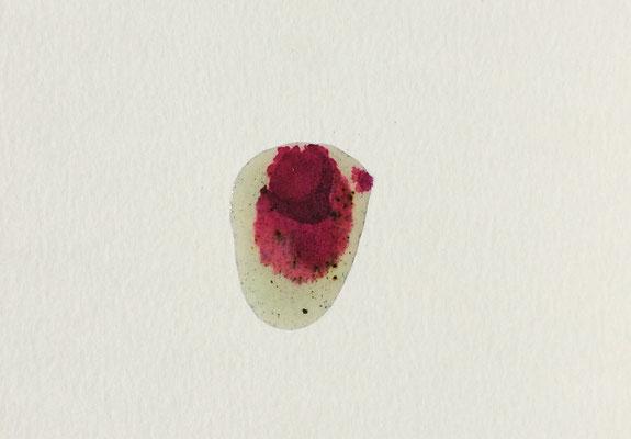 Resin Abstract N.14 | 14 x 20 cm | Mixed Media on Cardboard