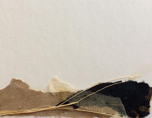 "Cristina Castañeda | ""Teruel n.10"" | Collage on cardboard | 8 cm x 10 cm| 2017"