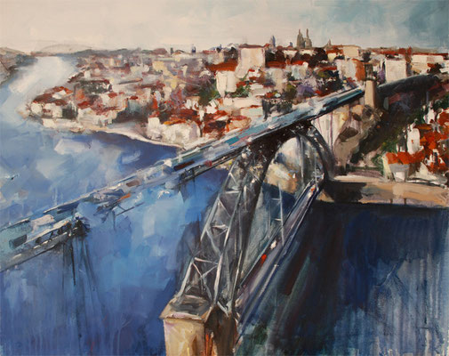 Oporto | 65 x 81 cm | Oil on canvas | 2009
