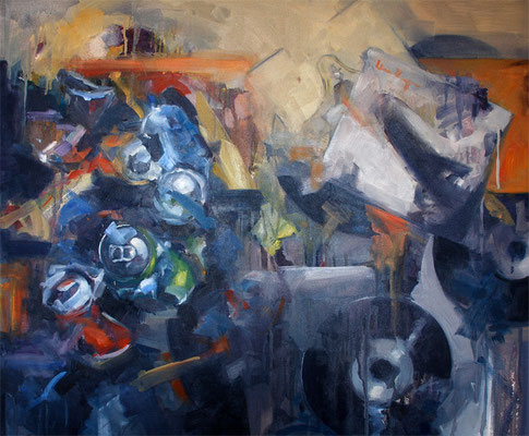 What is waste collection. What is Waste? | 65 x 78 cm | Oil on canvas | 2009