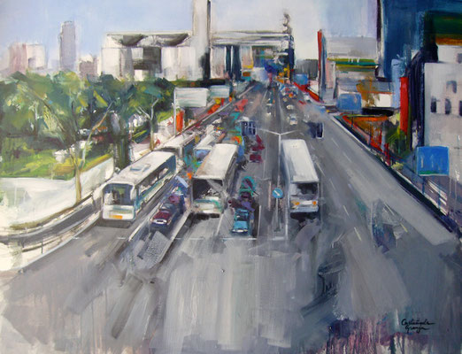 Tokyo | 80 x 100 cm | Oil on canvas | 2009