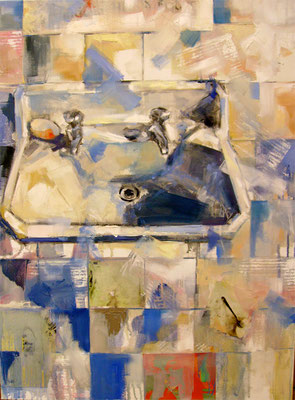 The toilette | 80 x 60 cm | Oil on canvas | 2009