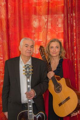 © Heike Wolters-Wrase, Blue Strings Duo, Veronika Vogel & Giorgio Crobu